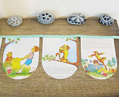 domum vindemia image winnie the pooh bunting nursery party supplies birthday decor homewares