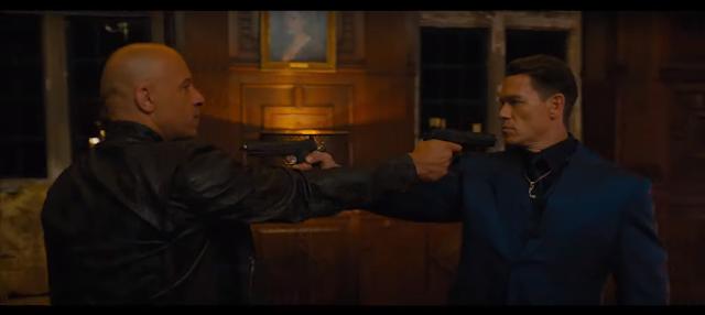 Vin Diesel & John Cena Fast 9