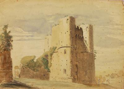 Saltwood Castle by Miner Kilbourne Kellogg