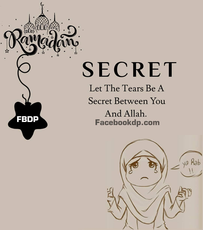 10 Best Ramadan Dua DP/Status For Facebook & Whatsapp