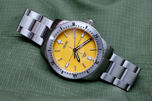 Collins Sonar yellow
