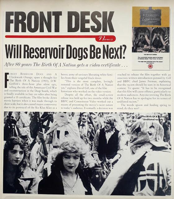 Birth of a Nation (Empire magazine, September 1994)