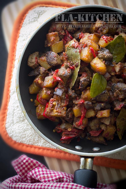 fla-kitchen: Sambal Goreng Ati & Kentang