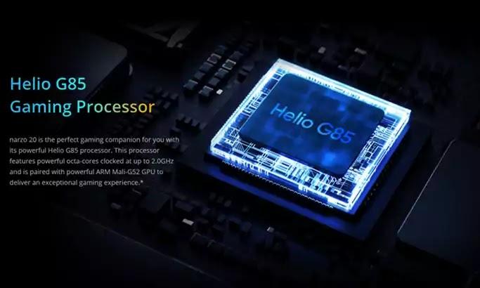 realme narzo 20 processor