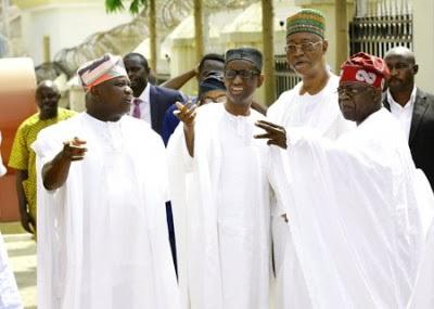 Tinubu, Ambode, Nuhu Ribadu attend Zahra Buhari's wedding
