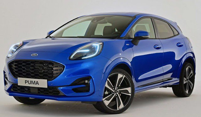 2020 ford puma blue