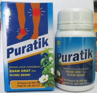 Toko Herbal Jual Puratik Di Surabaya Sidoarjo Gresik | Herbal Asam Urat