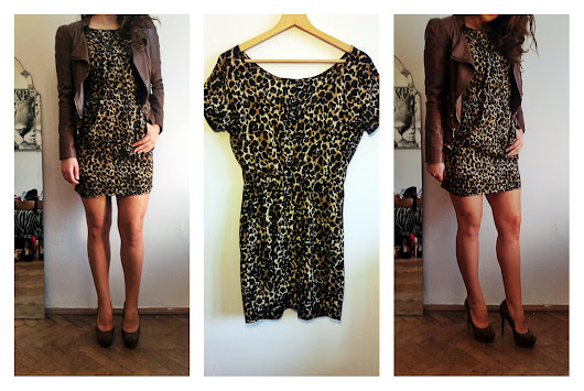 Classic panter print with brown details