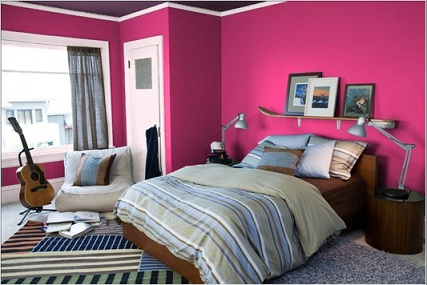 Fotos ideas para decorar casas - Dormitorio fucsia ...