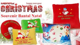 Souvenir Bantal Natal
