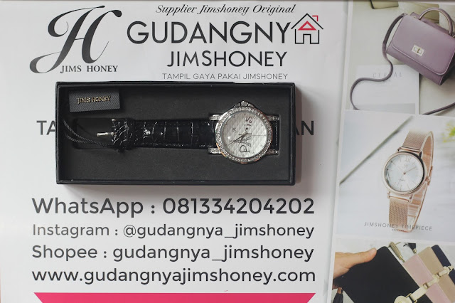 Real Pict Jam Tangan Jims Honey Timepiece 8194