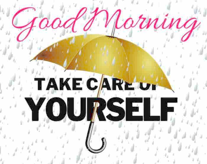 good morning rain image