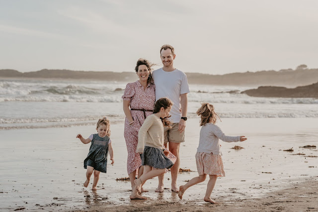 Geelong Beach family photoshoot