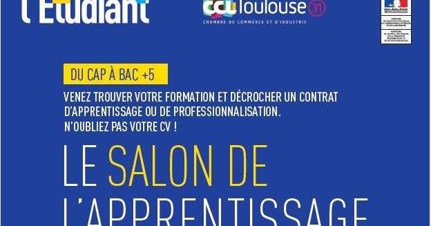 Fcpe lyc e saint exupery blagnac salon de l 39 apprentissage et de l 39 alternance de toulouse 8 et - Salon de l alternance toulouse ...