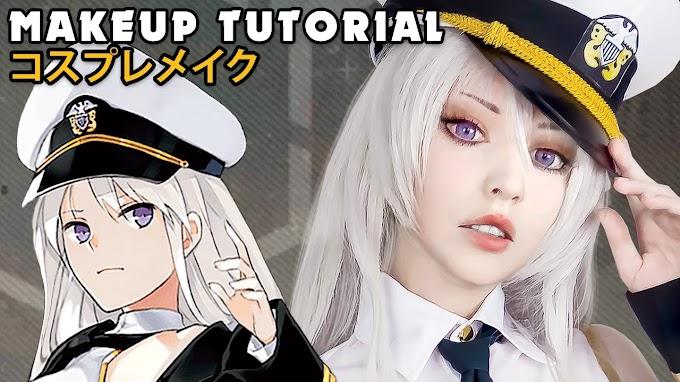 Como hacer el maquillaje de Azur Lane - Enterprise