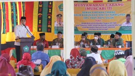 Ramadhani Kirana Putra Buka Muscab FKDT