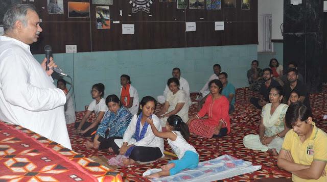 Celebration-of-International-Yoga-day-in-YMCA-University-Faridabad