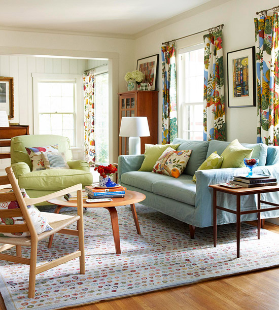 Colorful Living Space: Add Color To Your Living Room