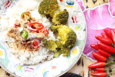 recette porc coco piment des Philippines