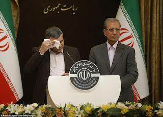 Terekam Limbung Saat Konferensi Pers, Wakil Menteri Kesehatan Iran Mengaku Positif Corona