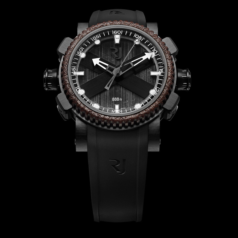 The Octopus By RJ-Romain Jerome: The Watch With Eight Arms