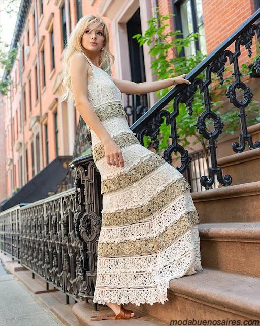 Vestidos verano 2020 │ Moda primavera verano 2020:Colección Var´s primavera verano 2020.