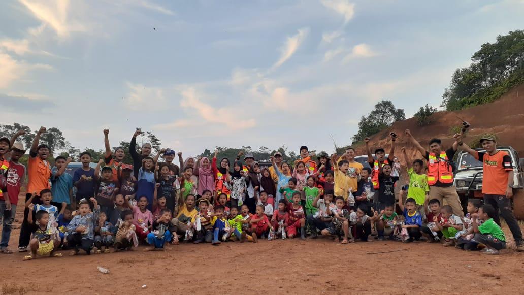 WMI Gelar Trauma Healing untuk Anak Korban Longsor di Cilleuksa