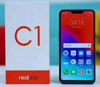 Cara Screenshot hp Realme C1