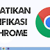 Cara Mematikan notifikasi  YouTube Di Chrome