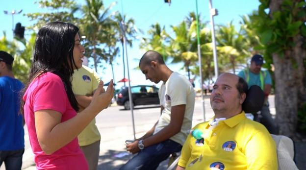 A corrida eleitoral de um candidato com ELA em Alagoas