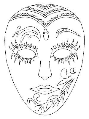 Maestra de Infantil: Máscaras venecianas y arlequines para