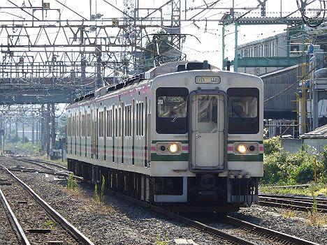 廃車回送された国鉄型107系R12が現役だった頃