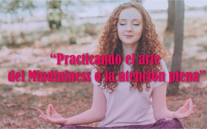 Practicando el arte del Mindfulness o la atención plena