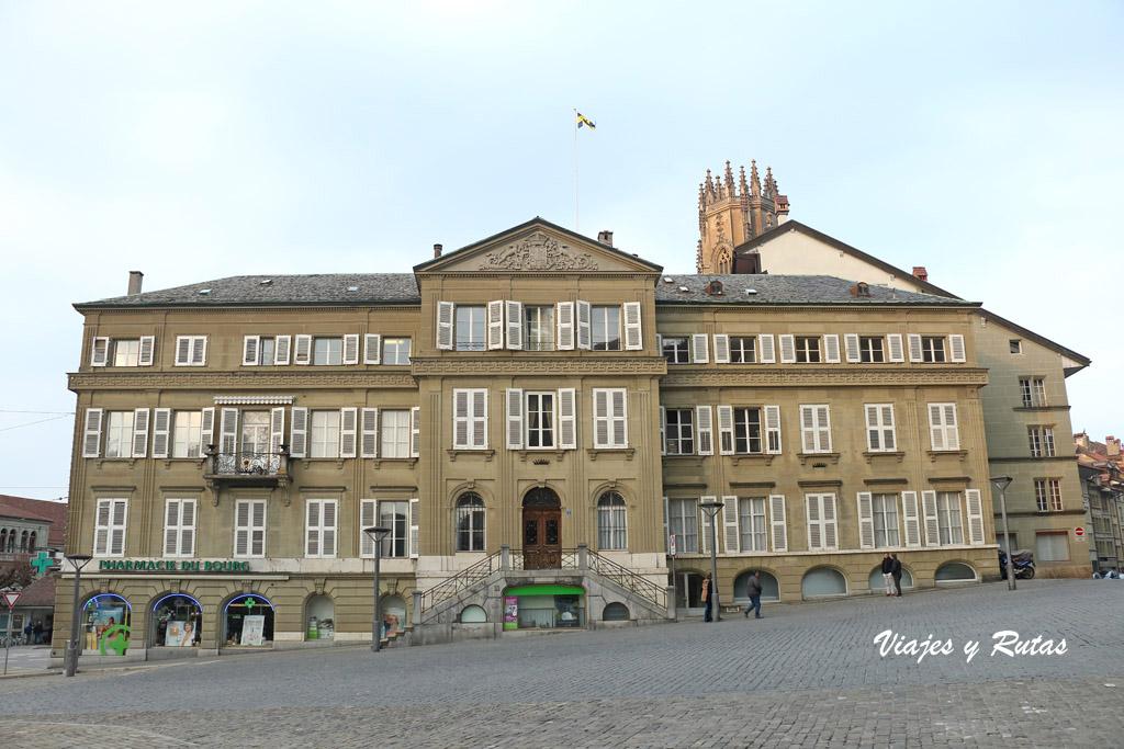 Plaza de la villa de Friburgo