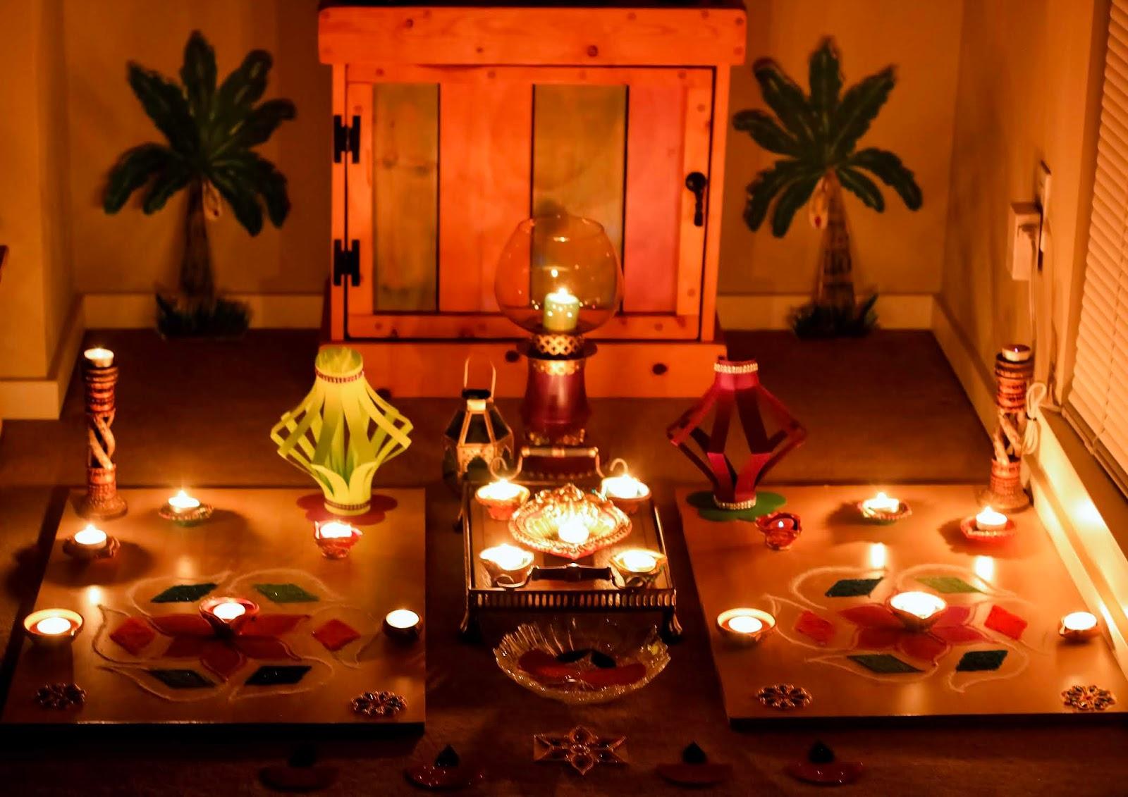 Easy & Quick DIY Diwali Decorations featured by top US lifestyle blog, Sveeteskapes