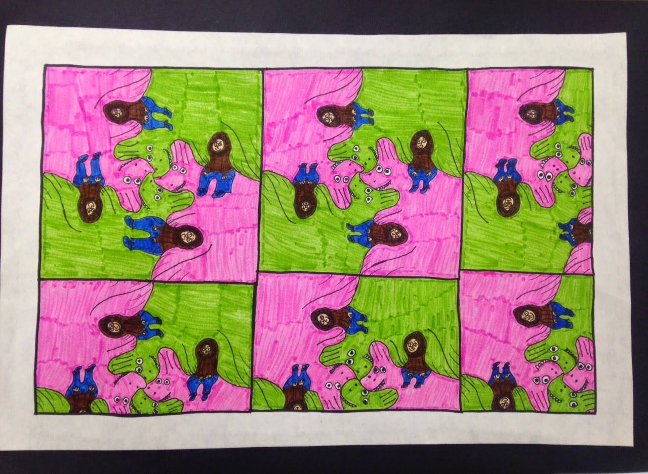 Class Monet 8th Grade Tessellations