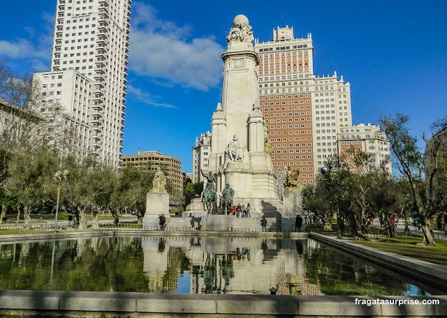 Praça de Espanha, Madri