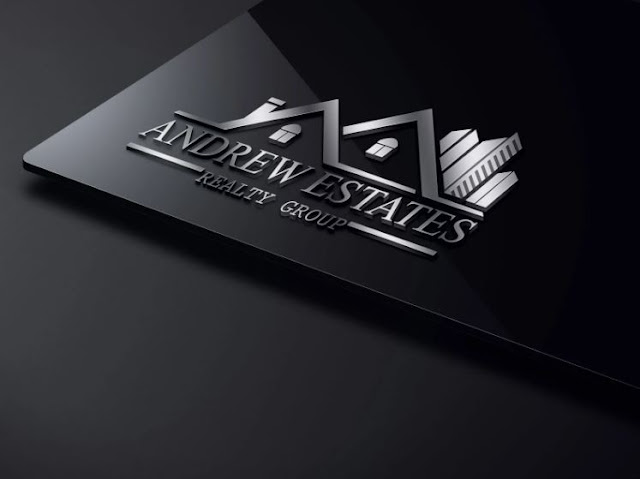 Property, Construction, Mortgage, Real Estate logo design