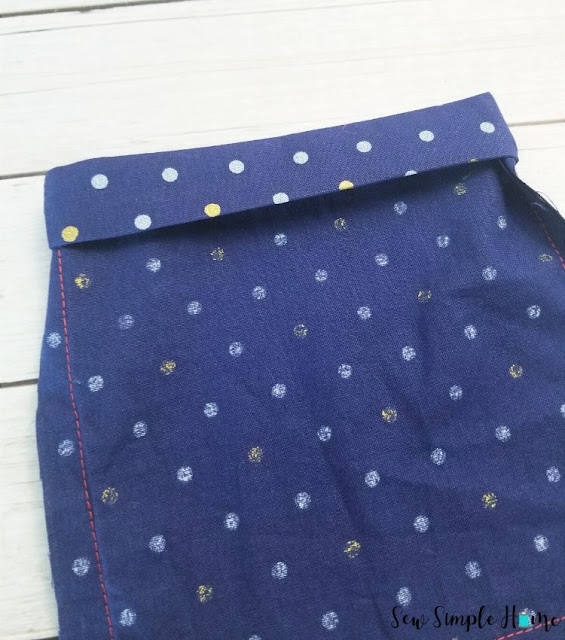 how to sew an elastic casing