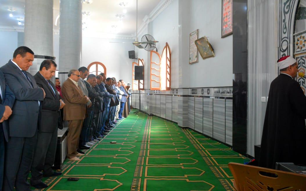 صور .. افتتاح  مسجد عزبة الغريانى بكوم البركة اليوم كفر الدوار