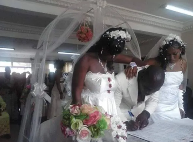 Man Weds 2 Women At The Same Time
