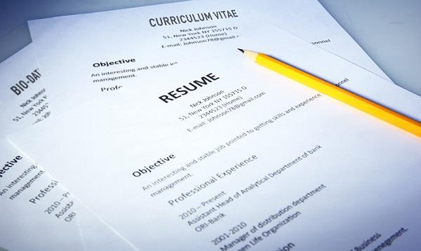 Perbezaan Antara Resume, Curriculum Vitae (CV) dan Biodata
