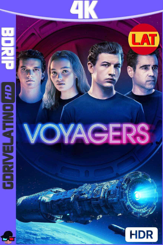 Voyagers (2021) BDRip 4K HDR Latino-Ingles MKV