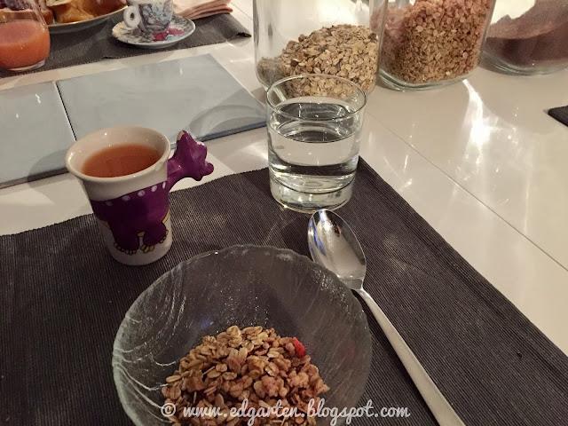 Frühstück mit Müesli