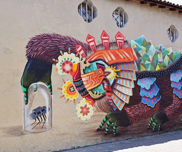 Curiot Mural In Mexico City