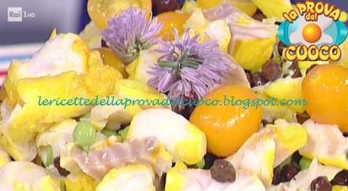Insalata di baccalà ricetta Barzetti da Prova del Cuoco