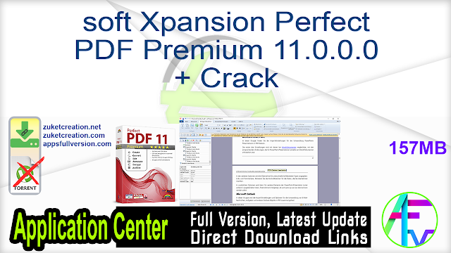 soft Xpansion Perfect PDF Premium 11.0.0.0 + Crack