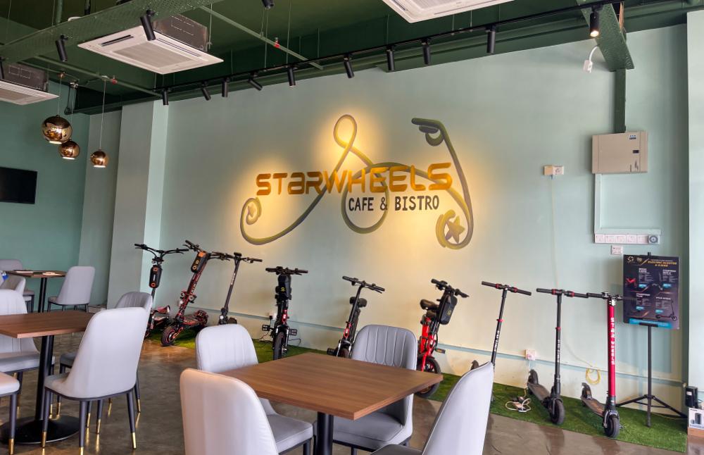 starwheels cafe & bistro, emporis kota damansara