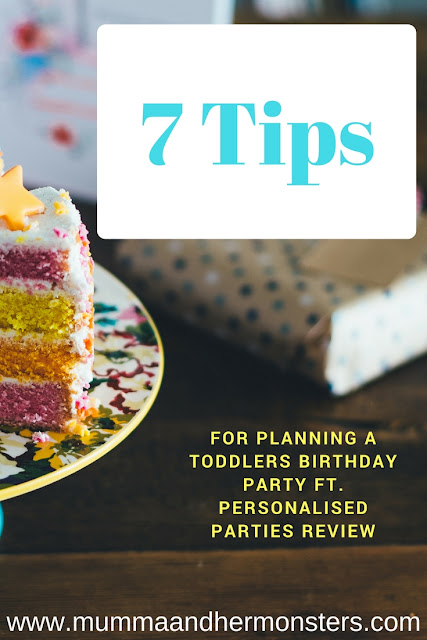 7 Tips For Planning A Toddlers Birthday Party