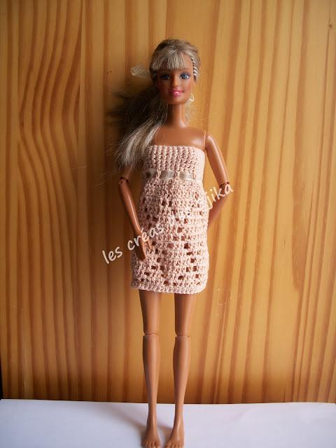 nuisette pour Barbie